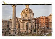 Sun Setting On Trajans Column Rome Carry-all Pouch