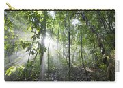 Sun Shining In Tropical Rainforest Carry-all Pouch
