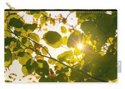 Sun Shining Through Leaves Carry-all Pouch