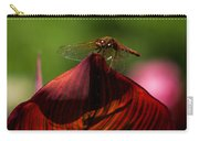 Sunbathing Dragonfly Carry-all Pouch