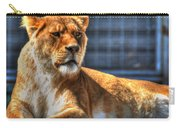 Sunbathing Lioness  Carry-all Pouch