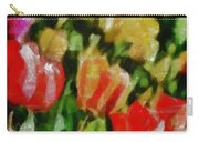 Sunbathing Tulips Carry-all Pouch