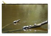 Sunbathing Turtles Carry-all Pouch