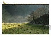 Sunbeams And Mist - Wolfscote Dale Carry-all Pouch