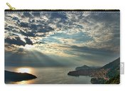 Sunbeams On Dubrovnik Carry-all Pouch