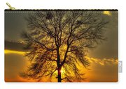 Sunblock A Sunset On Lake Oconee Carry-all Pouch