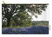 Sunburst Oak And Bluebonnets Carry-all Pouch