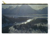 1m9313-sunburst Over Grand Teton, Wy Carry-all Pouch