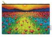Sunburst Poppies Carry-all Pouch