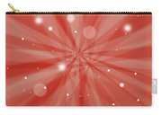 Sunburst Snow Red Carry-all Pouch