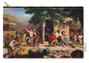 Sunday Morning In The Mines Carry-all Pouch by Charles Nahl