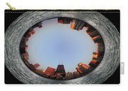 Sundown In The Chicago Canyons Polar View Carry-all Pouch by Thomas Woolworth