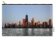 Sundown In The Chicago Canyons Carry-all Pouch