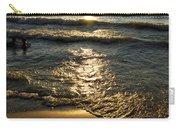 Sundown On The Beach Carry-all Pouch