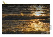Sundown On The Waves Carry-all Pouch