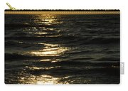 Sundown Reflections On The Waves Carry-all Pouch