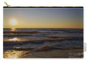 Sundown Scintillate On The Waves Carry-all Pouch