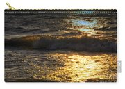Sundown Shimmer On The Waves Carry-all Pouch