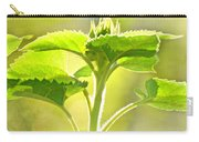 Sundrenched Sunflower - Digital Paint Carry-all Pouch