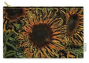 Sunflower 18 Carry-all Pouch