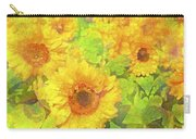 Sunflower 19 Carry-all Pouch