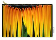 Sunflower Abstract 2 Carry-all Pouch