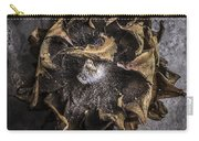 Sunflower Abstract Square Carry-all Pouch