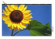 Sunflower Alone Carry-all Pouch