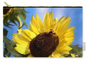 Sunflower And Bee-3879 Carry-all Pouch