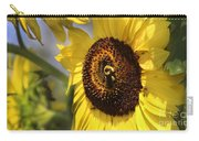 Sunflower And Bee-3922 Carry-all Pouch