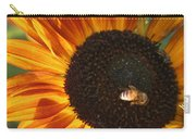 Sunflower And Bee-4041 Carry-all Pouch