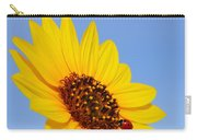 Sunflower And Ladybird Beetle 2am-110488 Carry-all Pouch