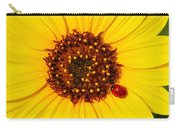 Sunflower And Ladybird Beetle 2am-110490 Carry-all Pouch