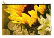 Sunflower And The Lights Carry-all Pouch