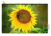 Sunflower And Visitors Carry-all Pouch