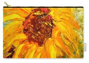 Sunflower Carry-all Pouch by Barbara Pirkle