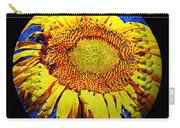 Sunflower Baseball Square Carry-all Pouch