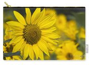 Sunflower Blossom Carry-all Pouch