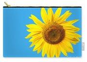 Sunflower Blue Sky Carry-all Pouch