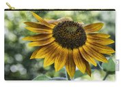 Sunflower Bokeh Carry-all Pouch
