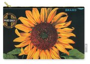 Sunflower Brand Crate Label Carry-all Pouch