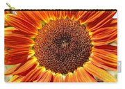 Sunflower Burst Carry-all Pouch by Kerri Mortenson