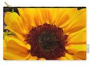 Sunflower Closeup Carry-all Pouch