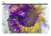 Sunflower Composite Carry-all Pouch