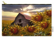 Sunflower Dance Carry-all Pouch by Debra and Dave Vanderlaan