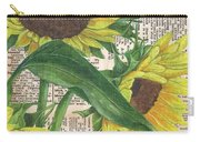 Sunflower Dictionary 1 Carry-all Pouch by Debbie DeWitt