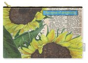 Sunflower Dictionary 2 Carry-all Pouch by Debbie DeWitt