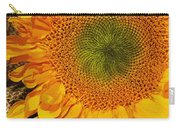 Sunflower Digital Painting Carry-all Pouch
