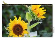 Sunflower Duo Carry-all Pouch