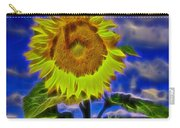 Sunflower Electrified Carry-all Pouch